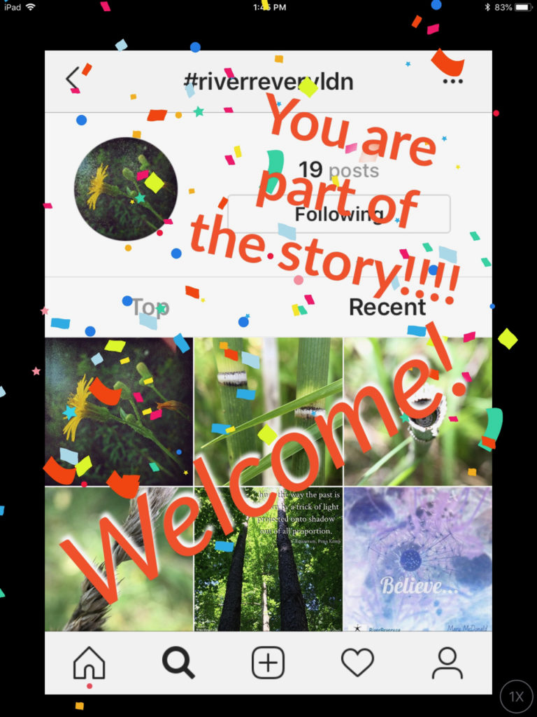 You are part of the story!!! Welcome !! image for How do I become part of the story