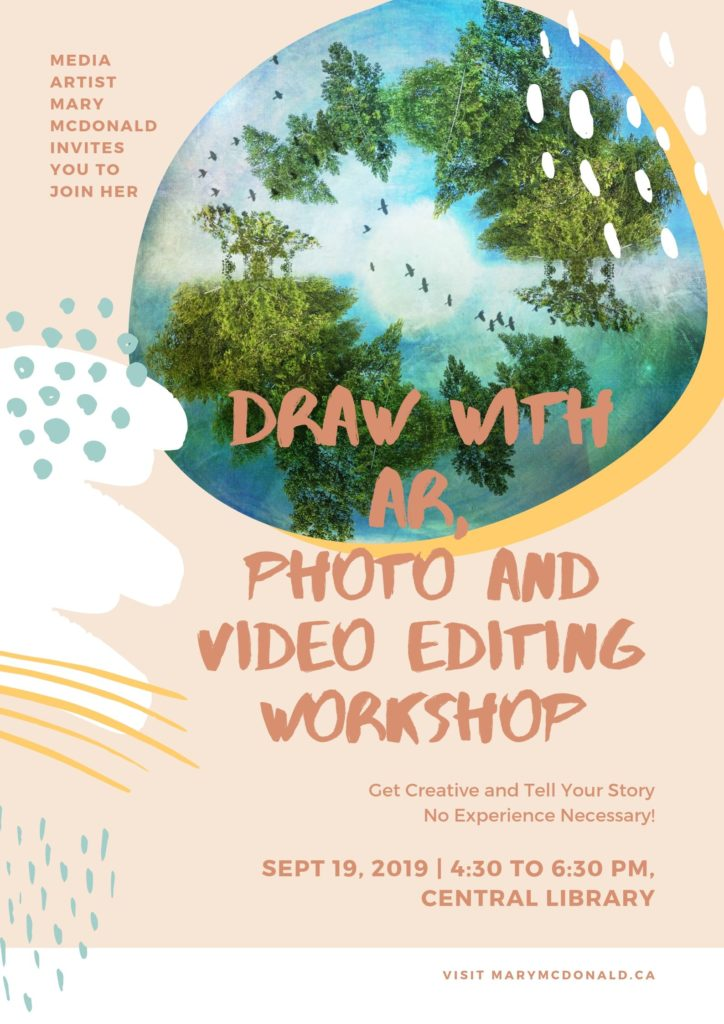 Poster for Library Drawing with AR